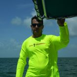 Tail Grabber Rash Guard Yellow